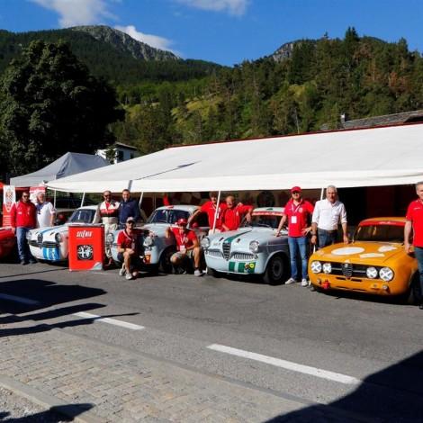 Cesana-Sestriere 2018: the Scuderia del Portello at the race. Photo by: www.fotograficasestriere.com