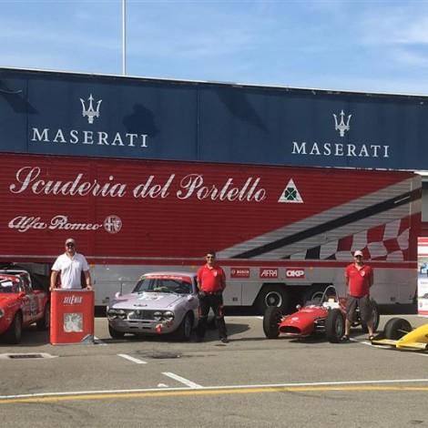 Scuderia del Portello at the 108° Alfa Romeo's Anniversary in Varano.