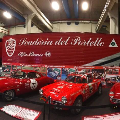 Automotoretrò 2019: Lo stand Scuderia del Portello