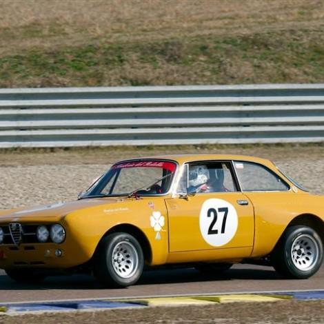 Drive Experience Davide Cironi Track Day, Autodromo di Modena, 3 marzo 2019: Gian Luigi Picchi su Alfa Romeo GTAm. Foto di Dario Pellizzoni.