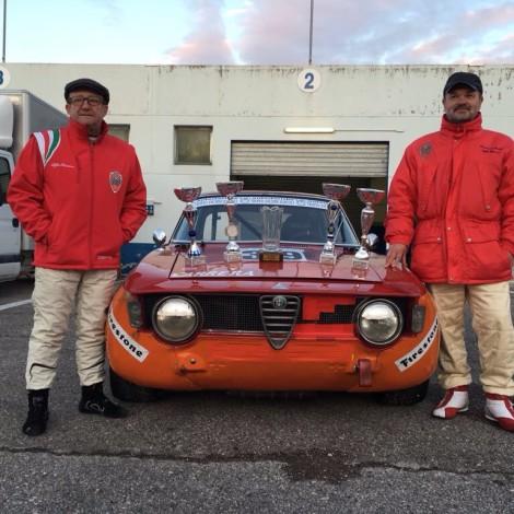 2 ore di Magione - Ambrosi and Serio first overall with a GTA 1600 of the Scuderia del Portello prepared by Toni Carrera