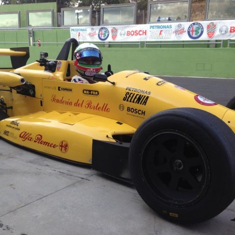 "Vallelunga, 1st ""Trofeo Formula Alfa"""