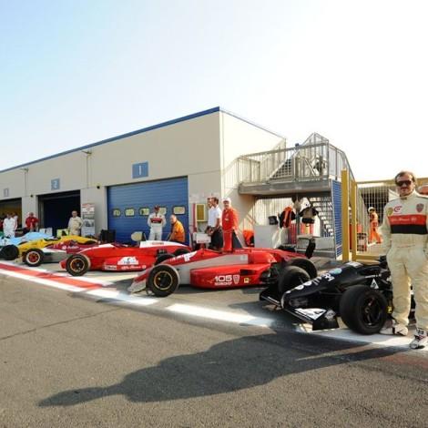 "Vallelunga, 1st ""Trofeo Formula Alfa"", line-up of the cars"