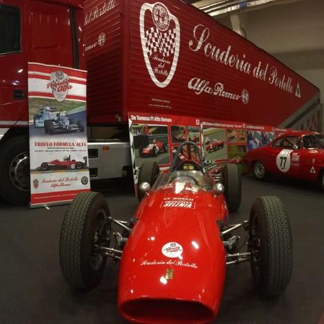Automotoretrò 2019: lo stand della Scuderia del Portello