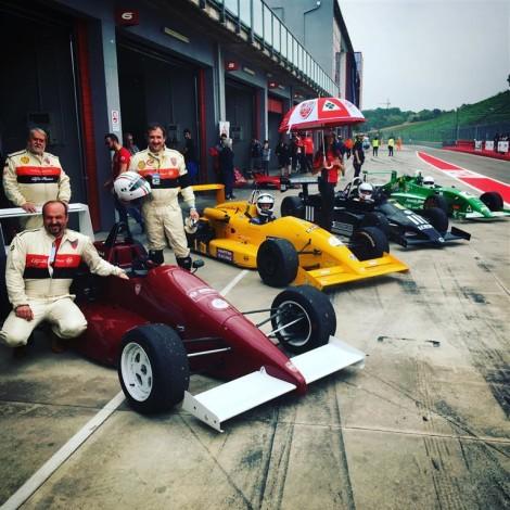 Imola, Historic Minardi Day 2018: the F3 of the Scuderia del Portello.