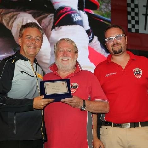 """Monza Fuori GP, """"Motorsport Passion"""", 1 settembre 2018: il Portello premia Mario Isola."""