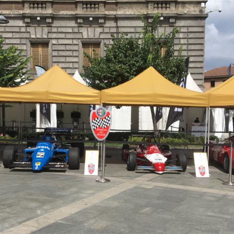 """Monza Fuori GP, """"Motorsport Passion"""", 1 settembre 2018: le vetture del Portello esposte."""