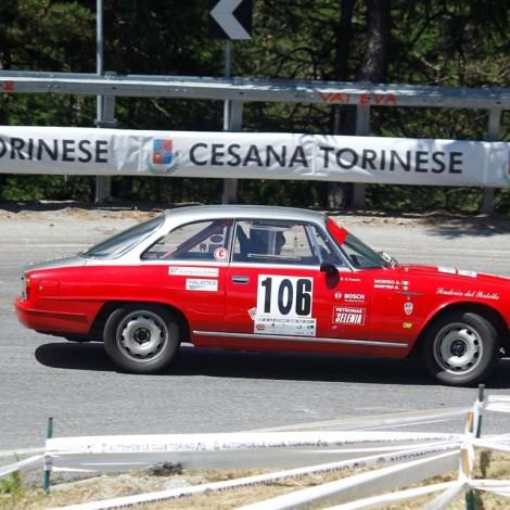 Cesana-Sestriere 2018: Alessandro Morteo su Alfa Romeo 2600. Foto di: www.fotograficasestriere.com