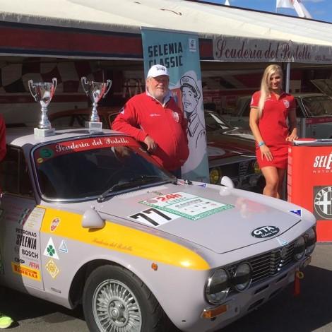 46th AvD-Oldtimer-Grand-Prix, Nürburgring: Marco Cajani and Renato Ambrosi winners. Photo by Dario Pellizzoni.