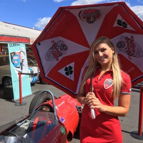 "46th AvD-Oldtimer-Grand-Prix, Nürburgring: Lena, the beautiful ""Portellina"". Photo by Dario Pellizzoni."