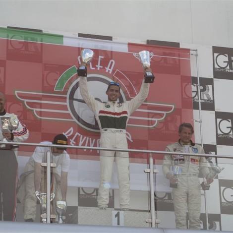 Adria, Alfa Revival Cup, Claudio Giudice, 1st overall, 1st class