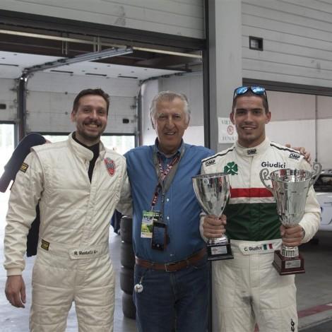 Adria, Alfa Revival Cup, Roberto Restelli, Gianni Giudici and Claudio Giudice