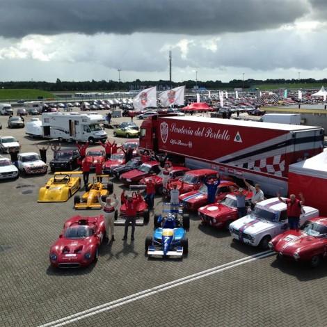 Assen - la Scuderia del Portello allo Spettacolo Sportivo Alfa Romeo