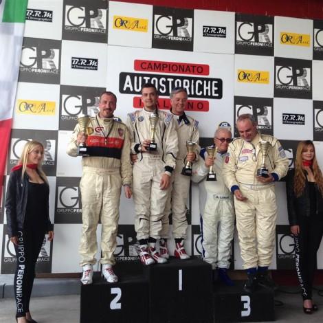 Campionato Italiano Autostoriche 2017, Franciacorta, Podio, Alessandro Morteo 2' Classe