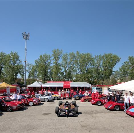 """Motor Legend Festival 2018, Imola: il """"Museo Dinamico"""" della Scuderia del Portello. Foto di Dario Pellizzoni."""