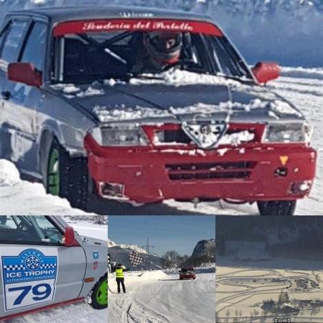 Altenmarkt - Pongau, Austria HISTORIC ICE TROPHY 6 Hours Youngtimer HIT ALFA ROMEO 33 1.7 16v. Drivers: Gerardo Macchi del Sette - Giovanni Gallini