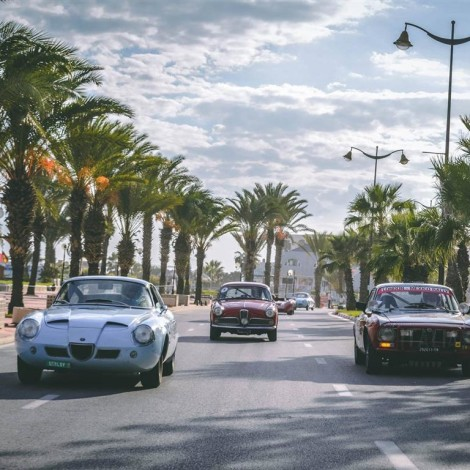The Scuderia del Portello at the Grand Prix Historique de Tunisie, circuit de Yasmine Hammamet, October 2018