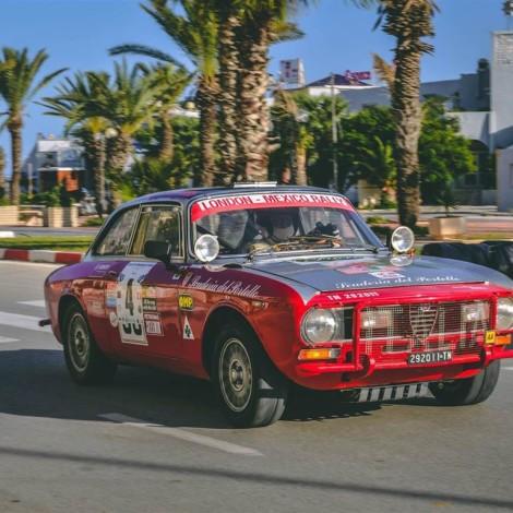 La Scuderia del Portello al Grand Prix Historique de Tunisie, circuit de Yasmine Hammamet, ottobre 2018