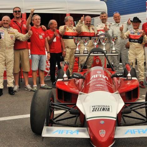 Monza 2017, Alfa Revival Cup: the triumph of the Scuderia del Portello.