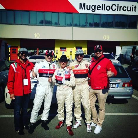Mugello, Francesco Moramarco, Lorenzo Moramarco, Arturo Merzario, Alessandro Morteo, Andrea Cajani