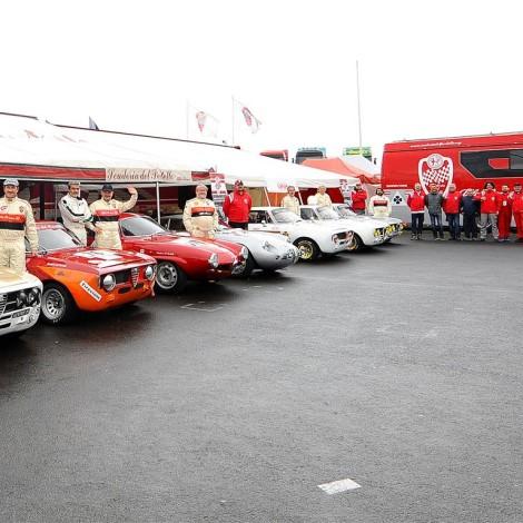 Nurburgring - Scuderia del Portello at the AvD Oldtimer Grand Prix