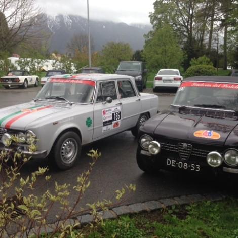 The Netherlands, 64th Tuliprally, Scuderia del Portello Sezione Benelux, Alfa Romeo Giulia 1300 Super