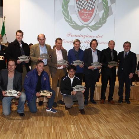 Alfa Romeo Champions Award Ceremony, club Benelux