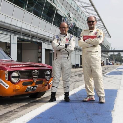 Renato Ambrosi e Giovanni Serio hanno vinto il Campionato Italiano classe GTS 1600 - periodo G2H1 a bordo della Alfa Romeo GTA 1600 di gruppo 4 curata da Toni Carrera