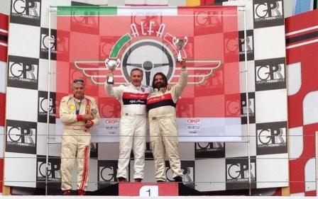 Imola, Alfa Revival Cup, Alfredo Altavilla, Fabrizio Zamuner