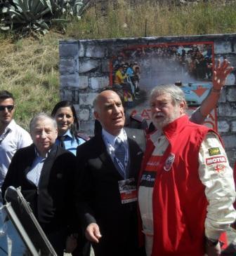 Targa Florio Jean Todt, Angelo Sticchi Damiani, Marco Cajani
