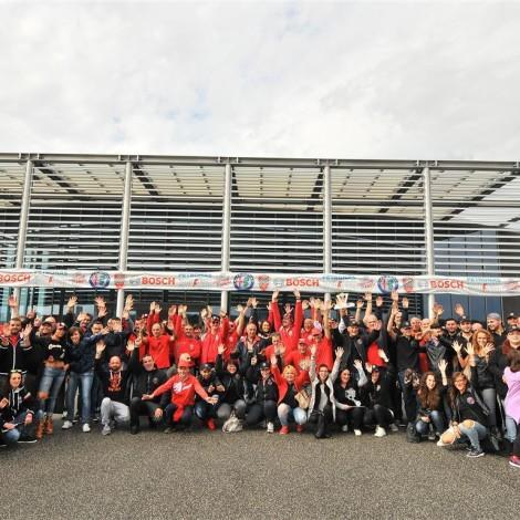 Vallelunga - I numerosi alfisti partecipanti a una delle due giornate del Grande Raduno Alfa Romeo