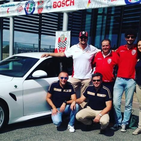 Vallelunga - Il Portello ed Heritage FCA con Alessandro Nannini e Davide Cironi