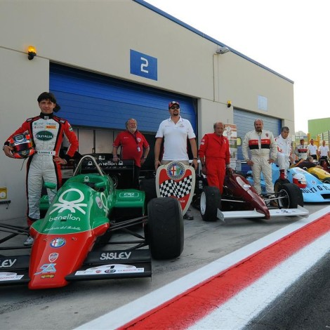 """Vallelunga - the cars taking part in the 1st """"Trofeo Formula Alfa"""""""