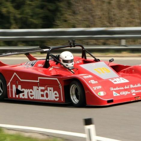 Rechbergrennen (Austria), Campionato Europeo Montagna CEM 2017, the driver member Walter Marelli with the Prototype Lucchini SN 88 with Alfa Romeo Engine 3000 cc 12 valves